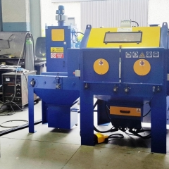 Compressed air sandblasting machines