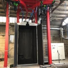 Shotblasting machines with hoist TECNO