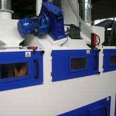 De-burring treatment shoblasting machines