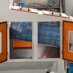 Sbavatrici e sabbiatrici per termoindurente