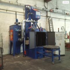 Rotary table sandblasting machines TR