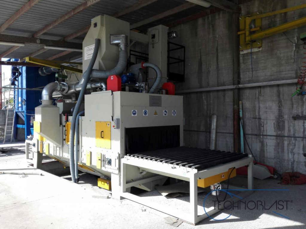 Technoblast • Marble and granite treatment shotblasting machines
