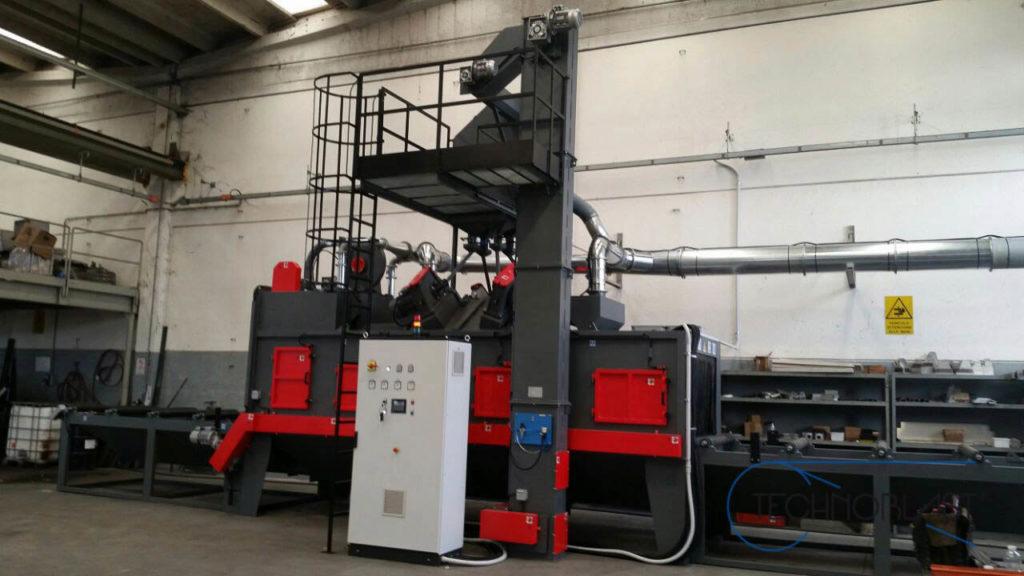 Technoblast • Roller shotblasting machines SAR