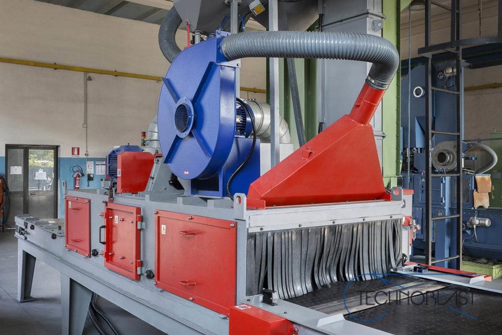 Technoblast • Rubber belt shotblasting machines