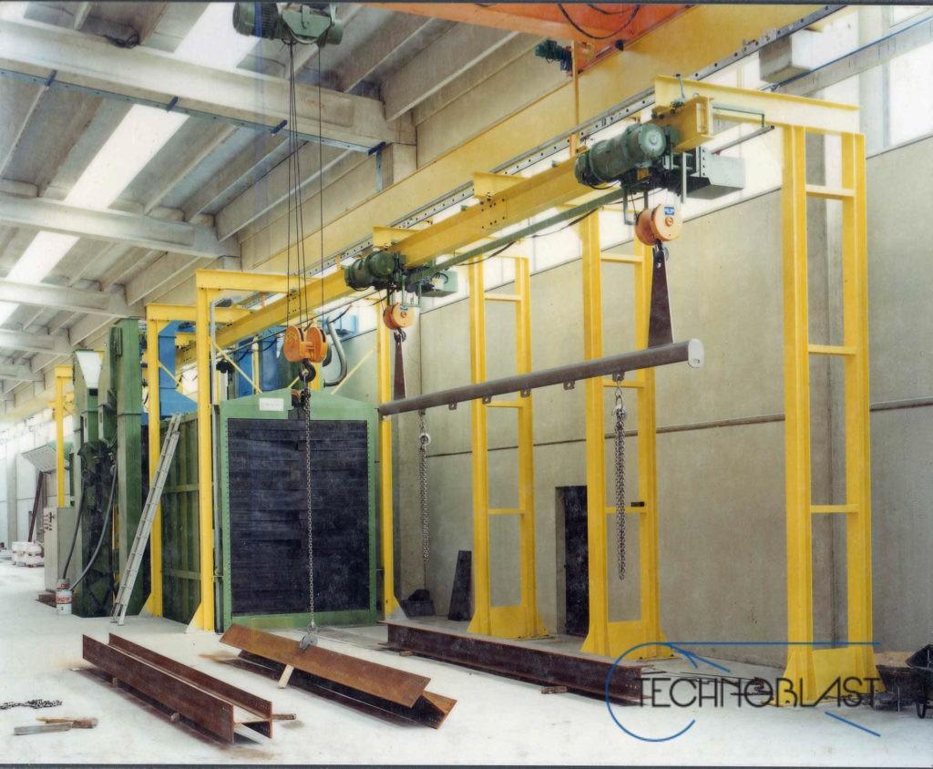 Technoblast • Tunnel shotblasting machines ISTG